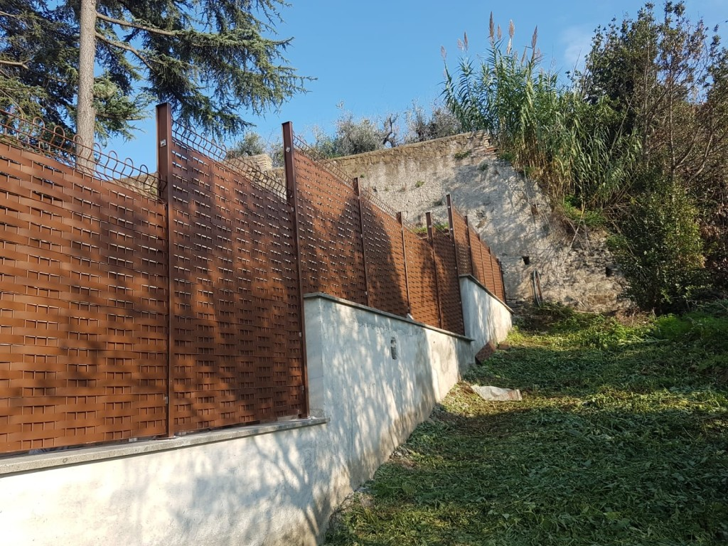 Privacy Frascati corten